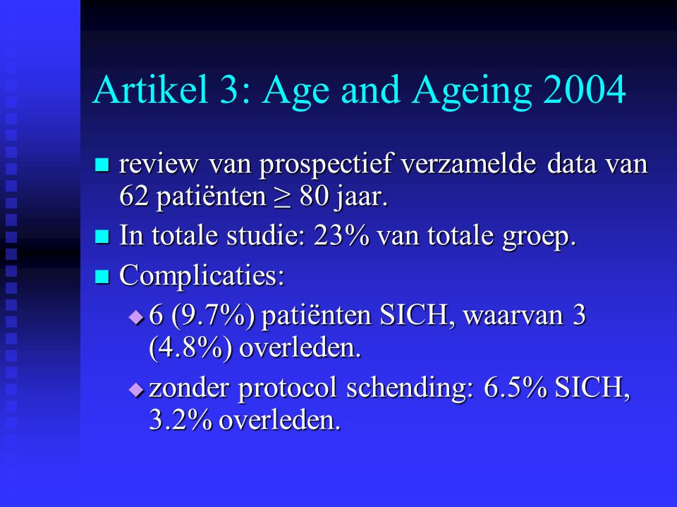 Artikel 3: Age and Ageing 2004