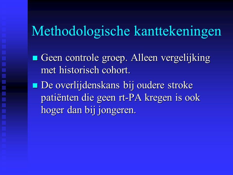 Methodologische kanttekeningen