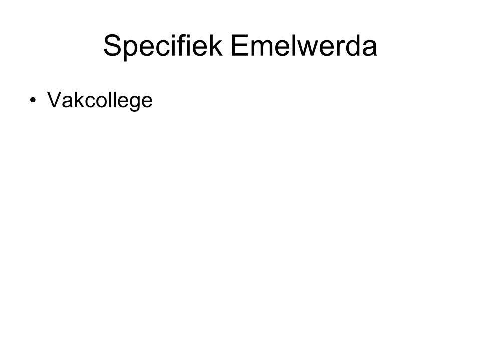 Specifiek Emelwerda Vakcollege