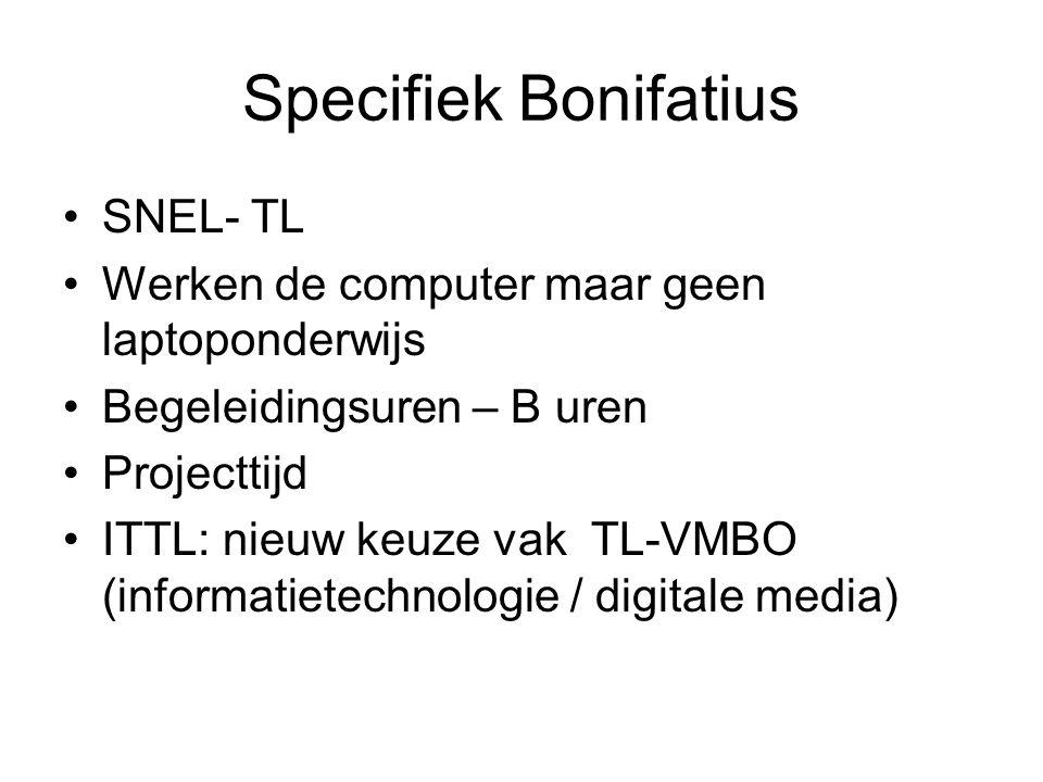 Specifiek Bonifatius SNEL- TL