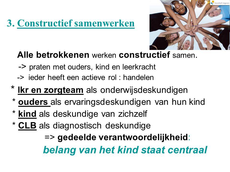 3. Constructief samenwerken