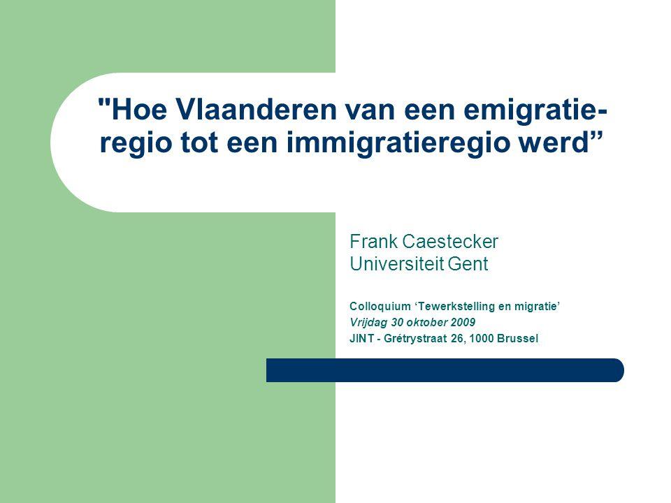Hoe Vlaanderen van een emigratie-regio tot een immigratieregio werd