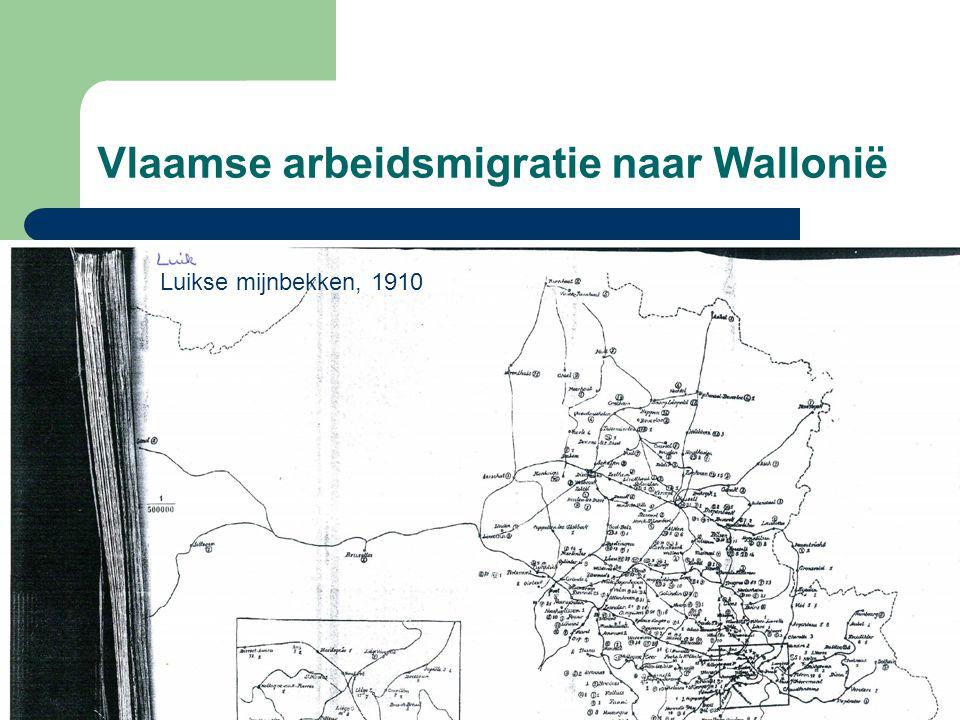 Vlaamse arbeidsmigratie naar Wallonië