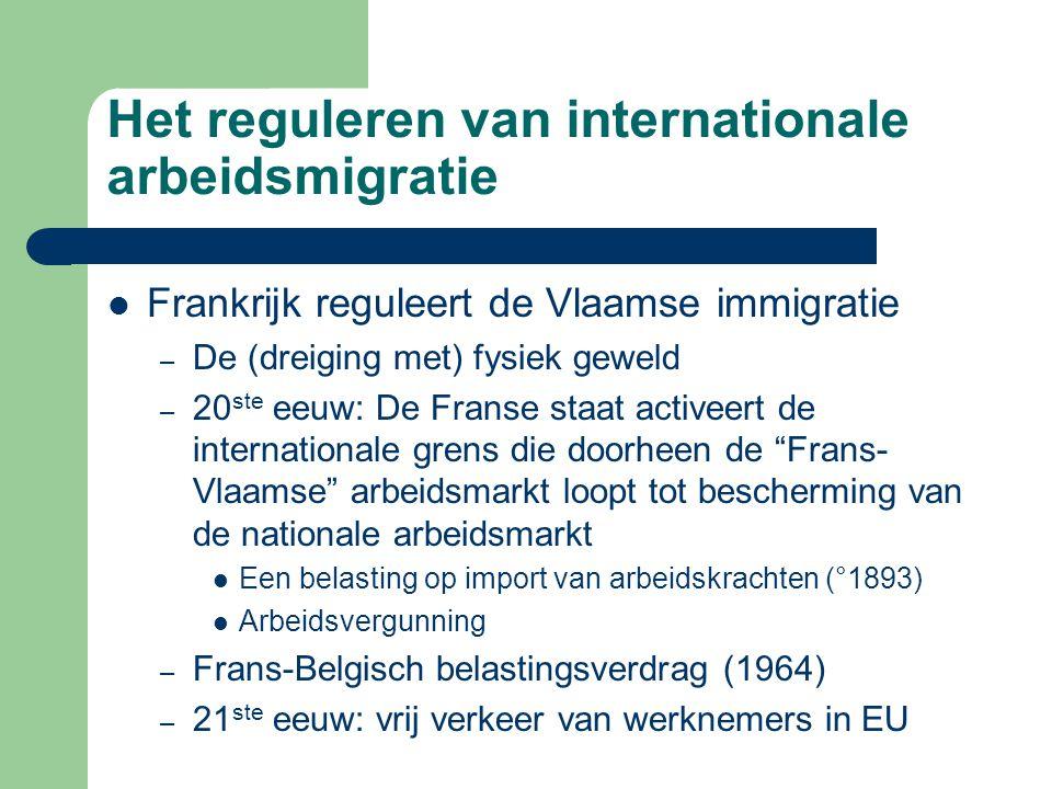 Het reguleren van internationale arbeidsmigratie