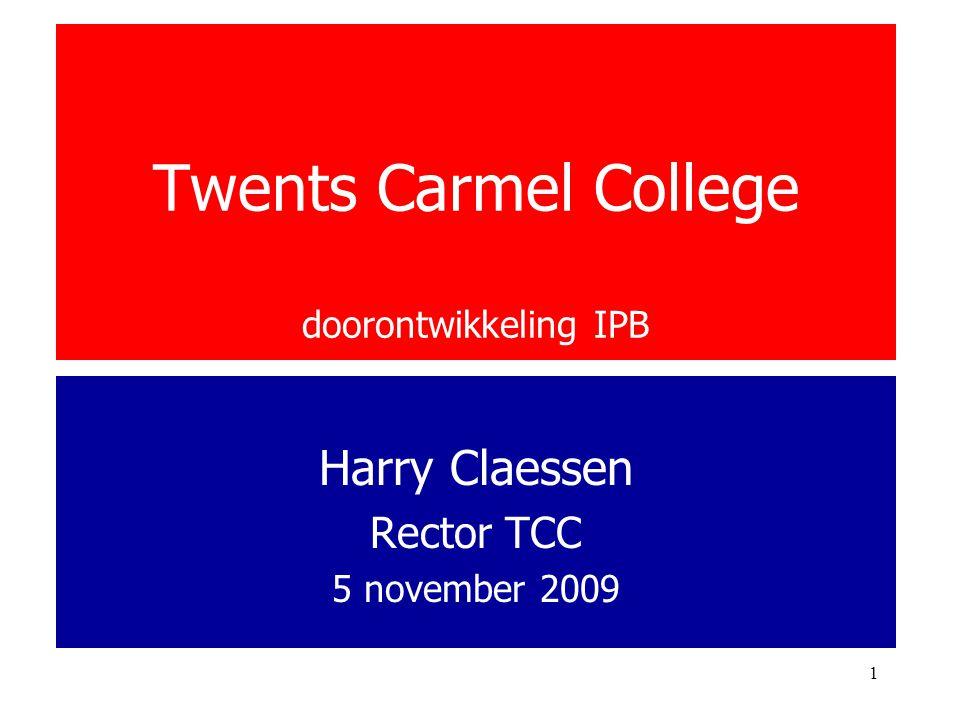 Twents Carmel College doorontwikkeling IPB