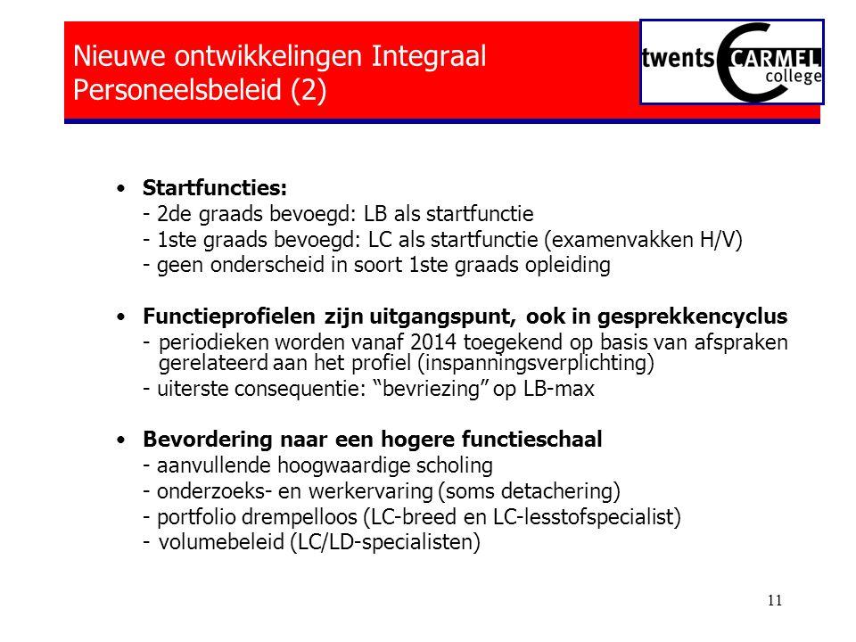 Nieuwe ontwikkelingen Integraal Personeelsbeleid (2)