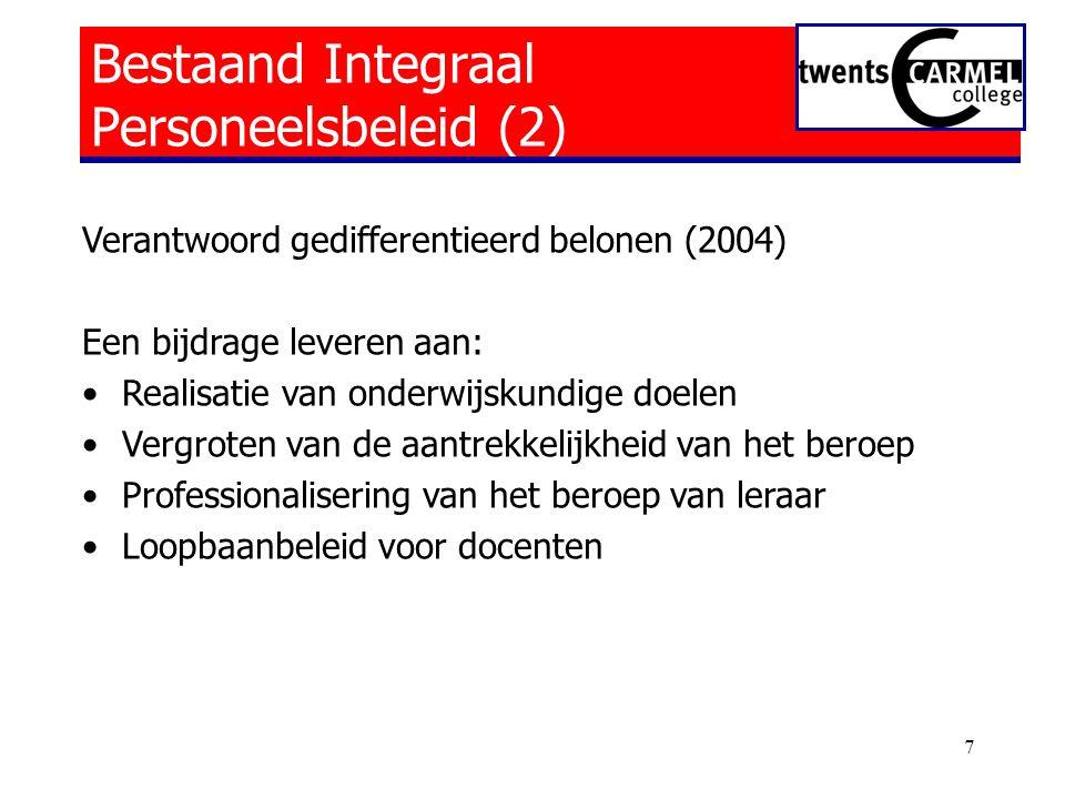 Bestaand Integraal Personeelsbeleid (2)