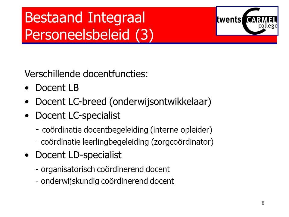 Bestaand Integraal Personeelsbeleid (3)