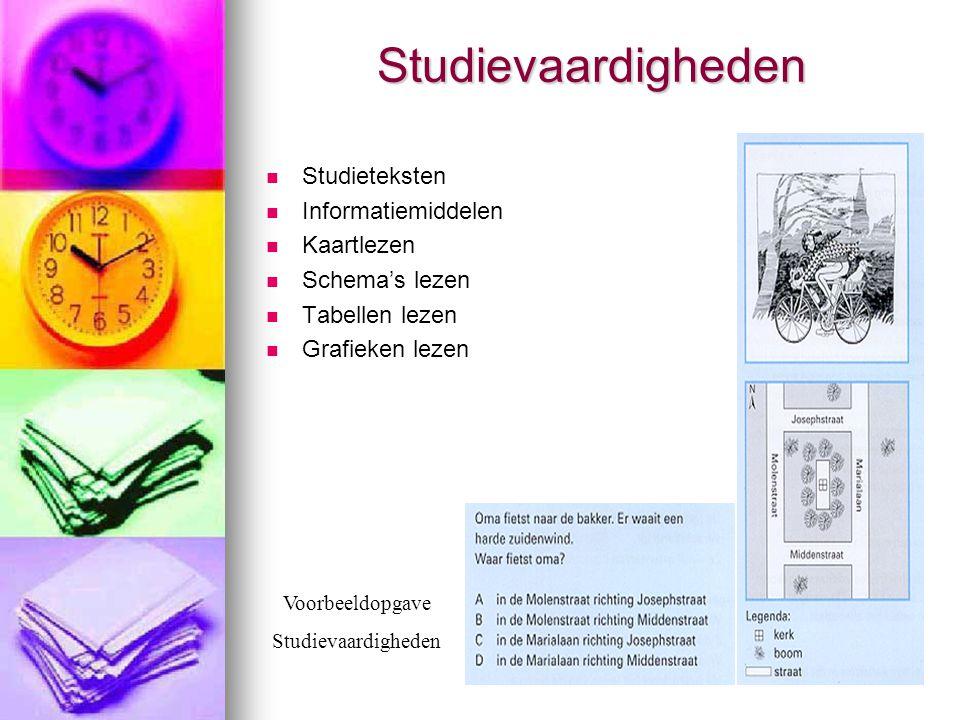 Studievaardigheden Studieteksten Informatiemiddelen Kaartlezen