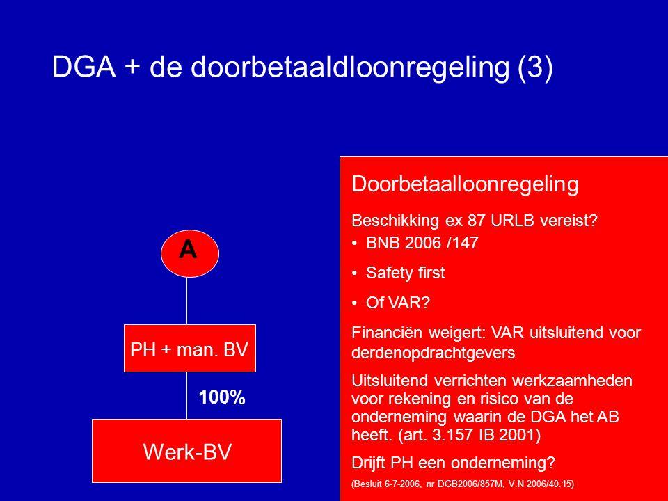 DGA + de doorbetaaldloonregeling (3)