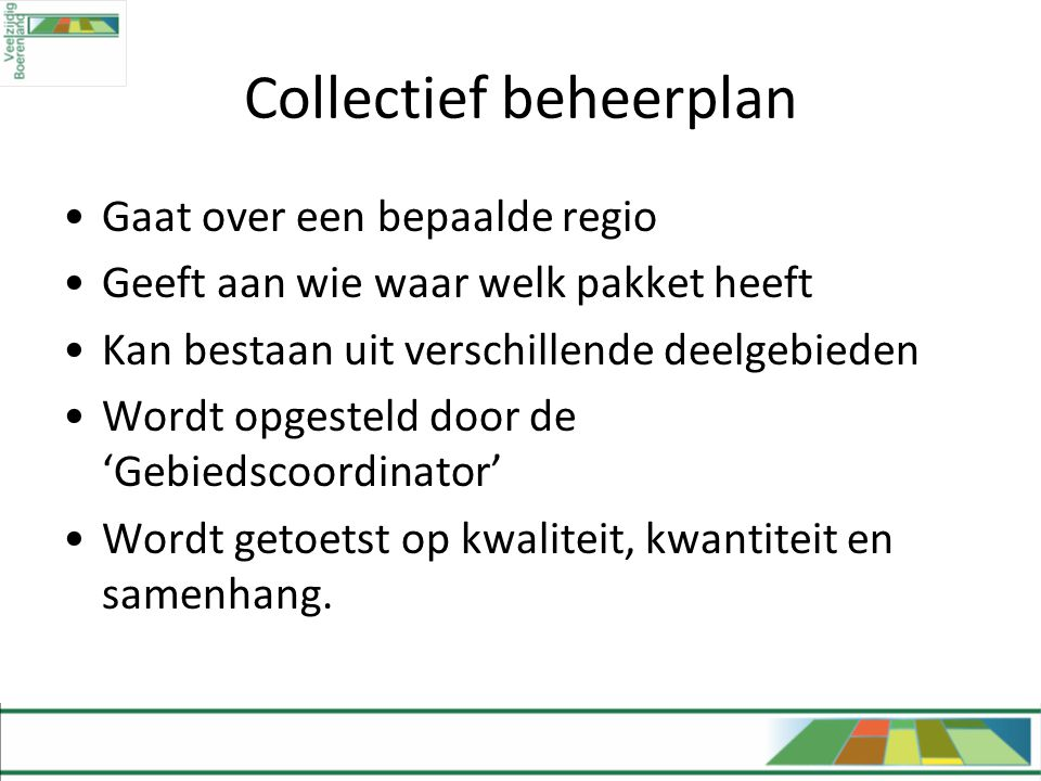 Collectief beheerplan
