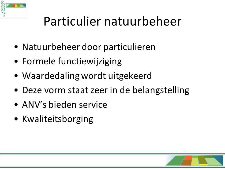 Particulier natuurbeheer