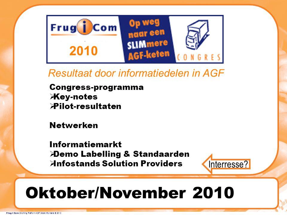 Resultaat door informatiedelen in AGF