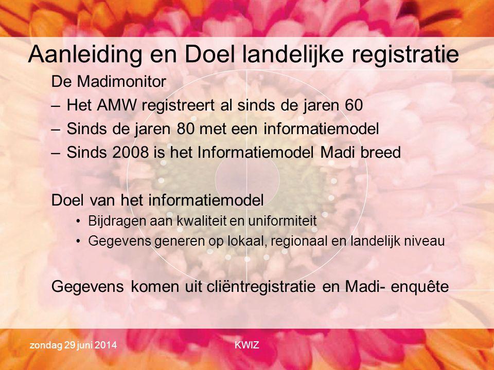 Aanleiding en Doel landelijke registratie