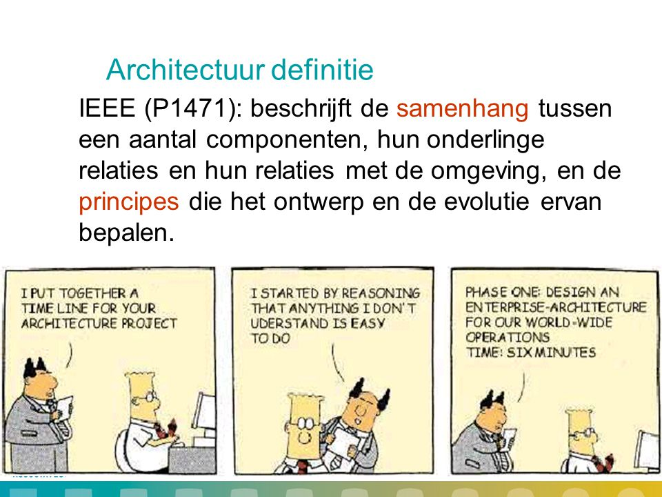 Architectuur definitie