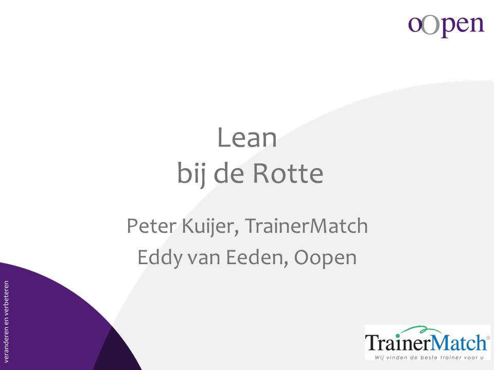 Peter Kuijer, TrainerMatch Eddy van Eeden, Oopen