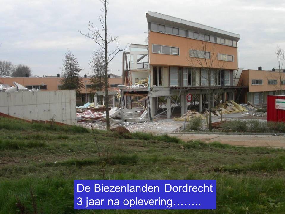 De Biezenlanden Dordrecht 3 jaar na oplevering……..