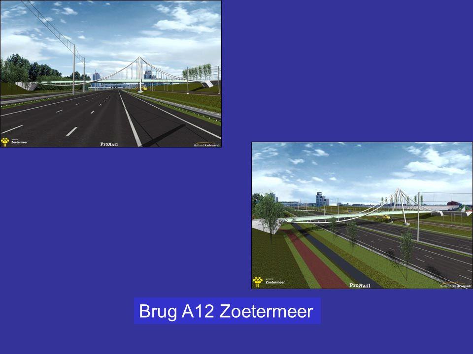 Bouwen naast de snelweg, eerst de A4 (ontsluiting A5) recent de A12