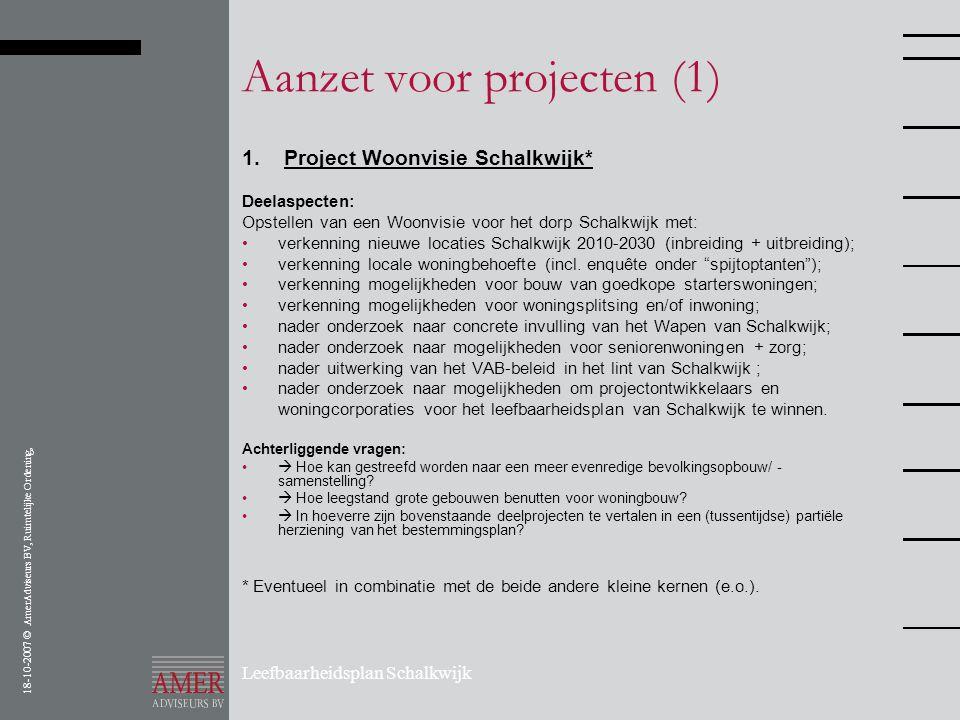 Aanzet voor projecten (1)