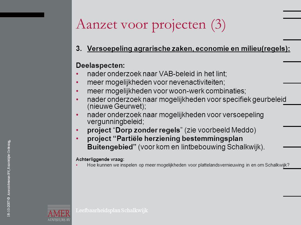 Aanzet voor projecten (3)
