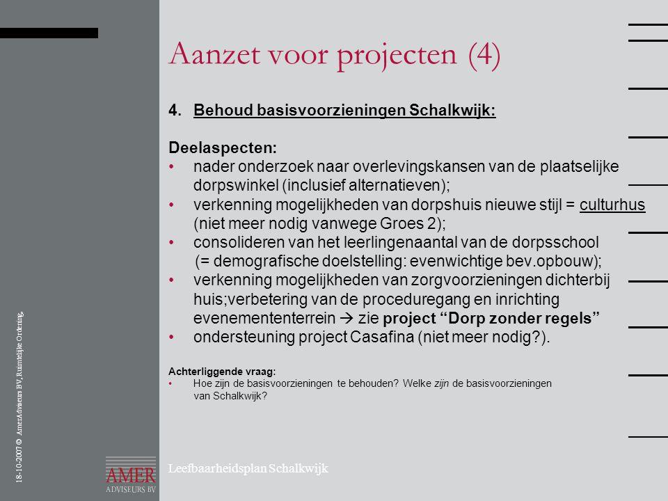 Aanzet voor projecten (4)