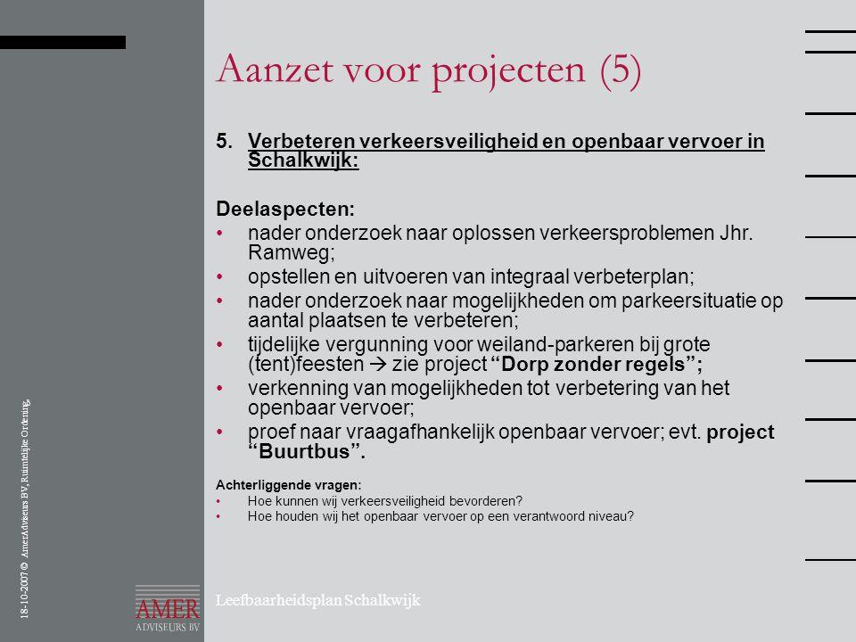 Aanzet voor projecten (5)