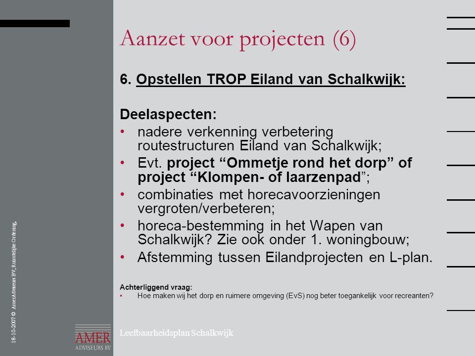 Aanzet voor projecten (6)