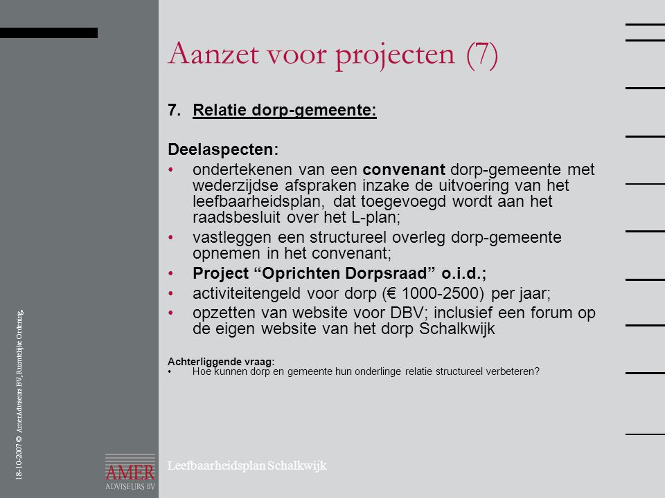 Aanzet voor projecten (7)