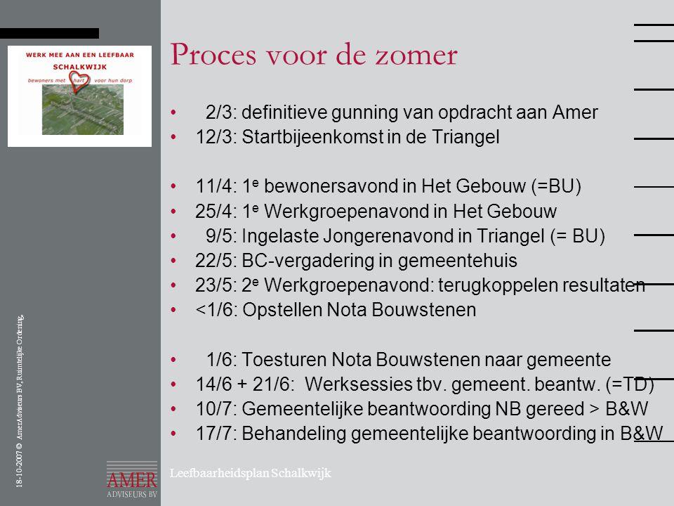 Proces voor de zomer 2/3: definitieve gunning van opdracht aan Amer