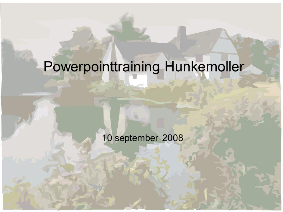 Powerpointtraining Hunkemoller