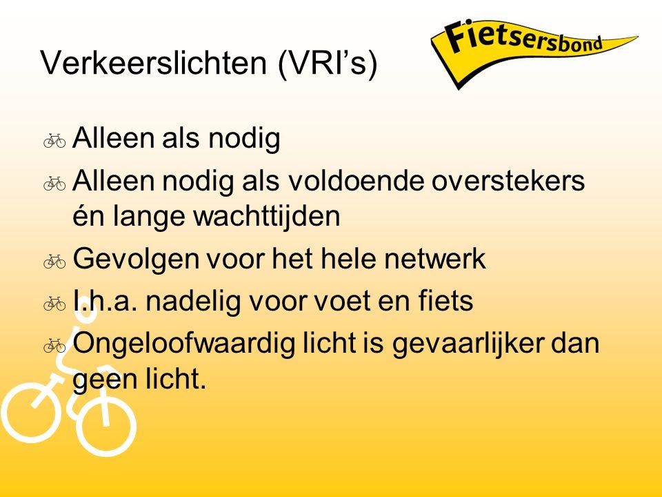 Verkeerslichten (VRI's)