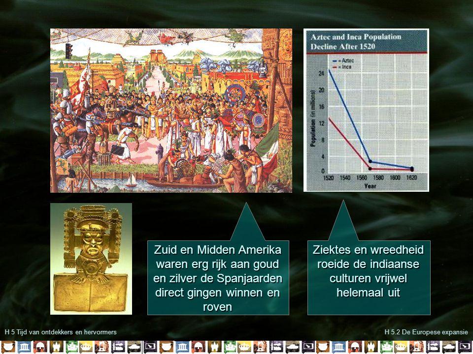 Ziektes en wreedheid roeide de indiaanse culturen vrijwel helemaal uit