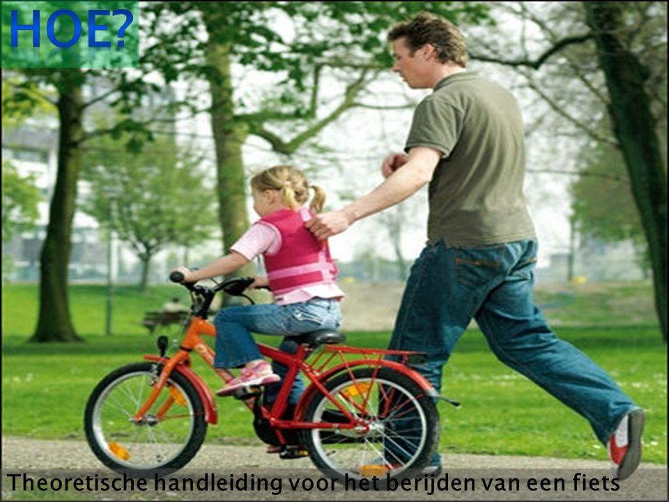 Hoe Theoretische handleiding voor het berijden van een fiets