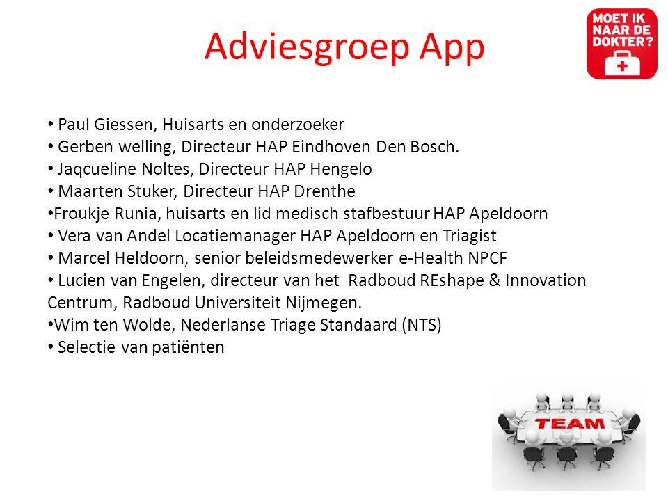 Adviesgroep App Paul Giessen, Huisarts en onderzoeker