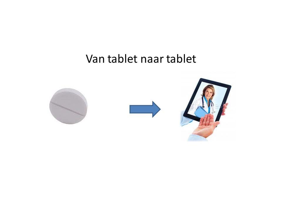 Van tablet naar tablet
