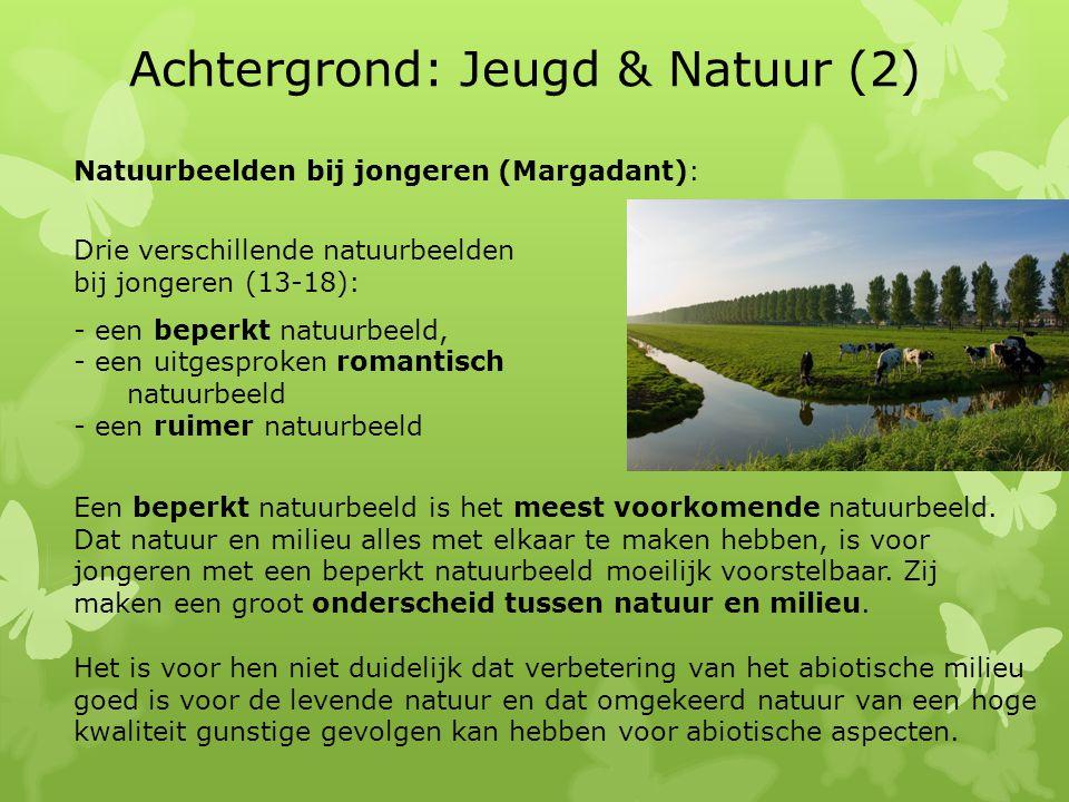 Achtergrond: Jeugd & Natuur (2)