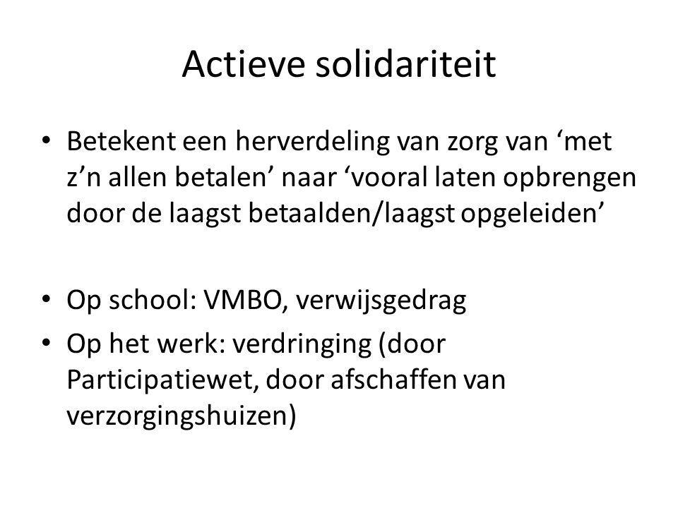 Actieve solidariteit