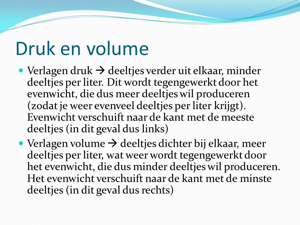 Druk en volume