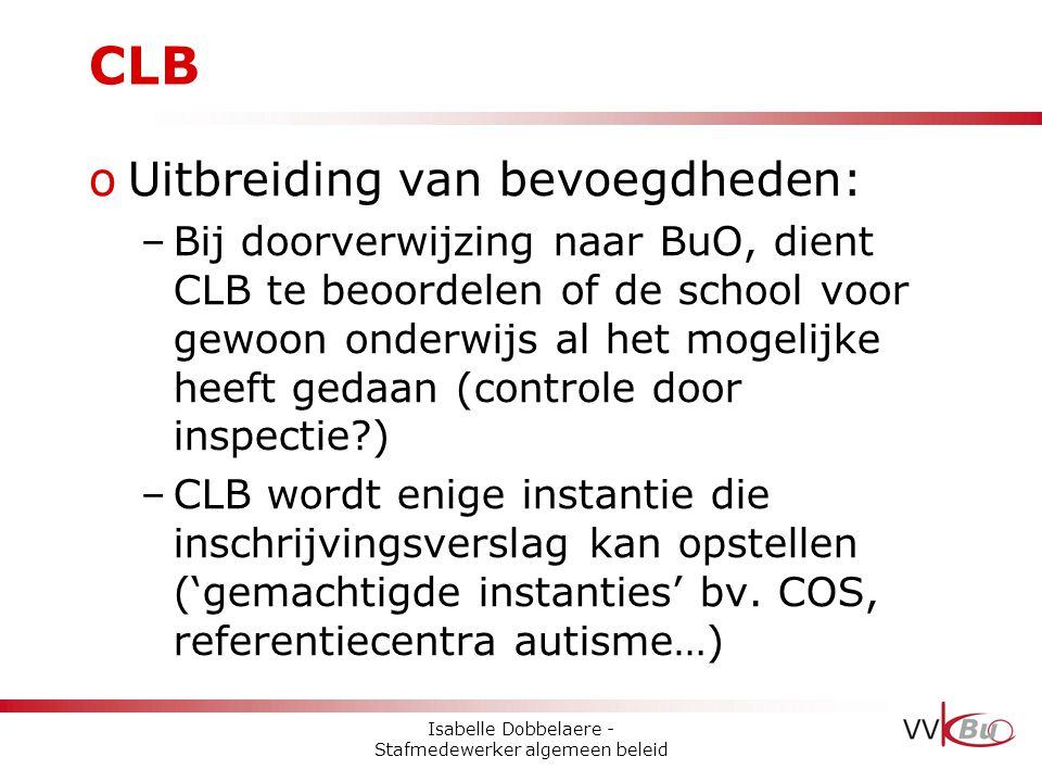Isabelle Dobbelaere - Stafmedewerker algemeen beleid