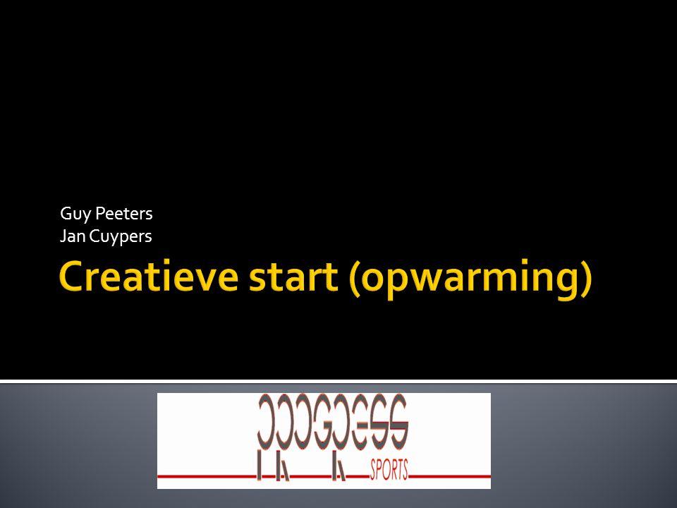 Creatieve start (opwarming)