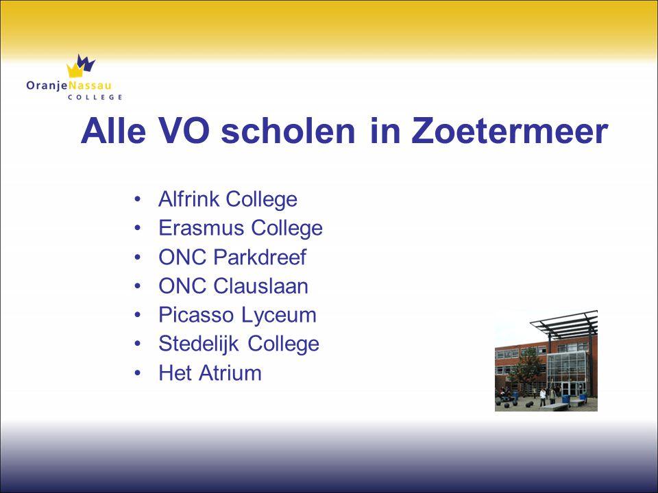 Alle VO scholen in Zoetermeer