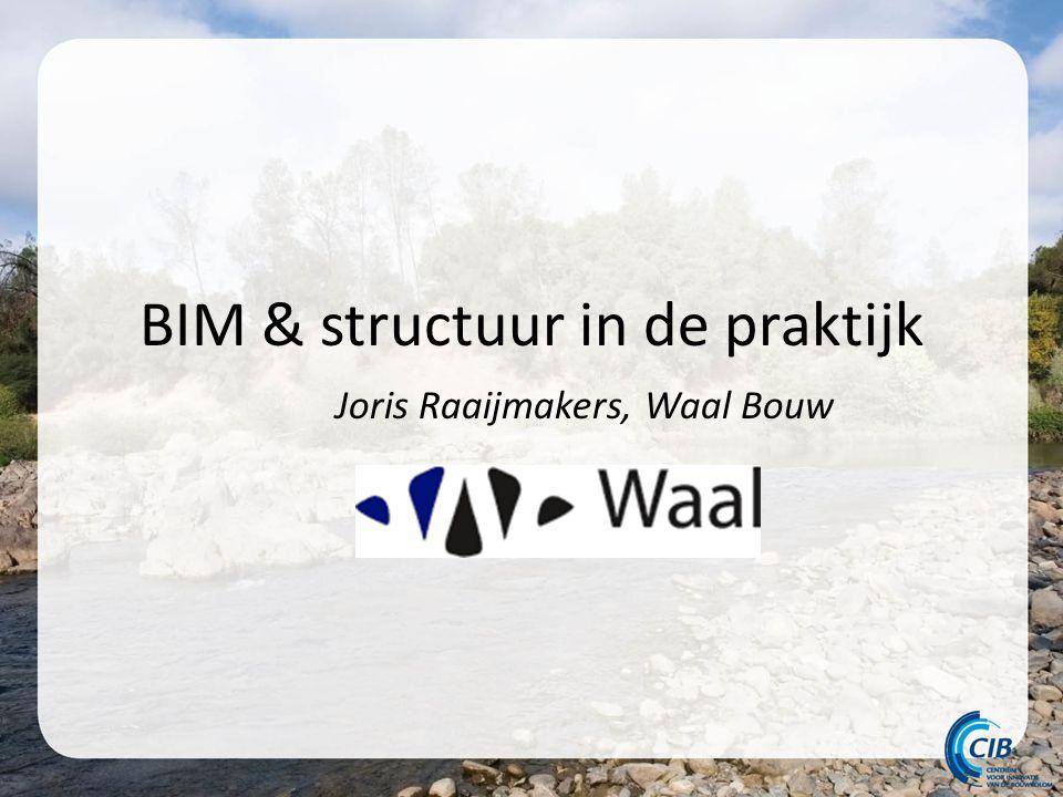 BIM & structuur in de praktijk