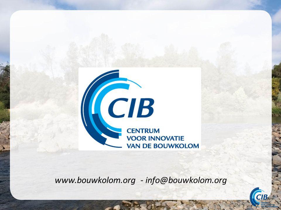 www.bouwkolom.org - info@bouwkolom.org