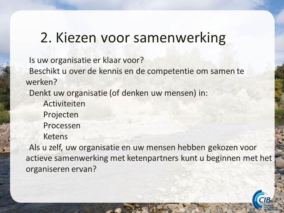 2. Kiezen voor samenwerking