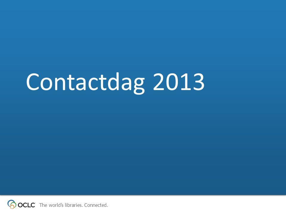 Contactdag 2013