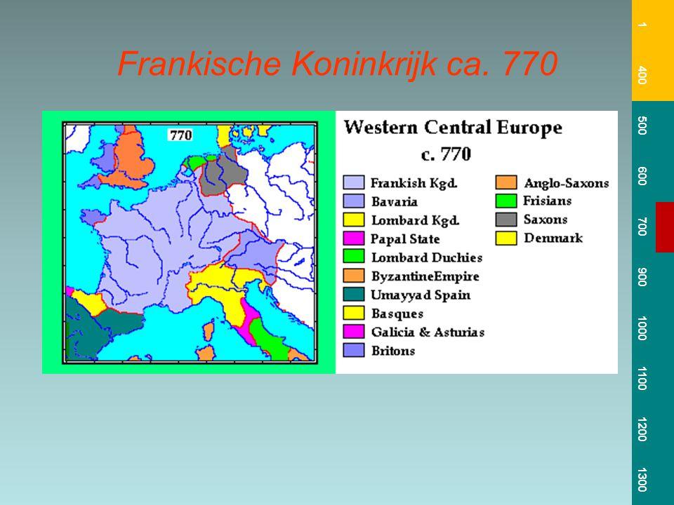 Frankische Koninkrijk ca. 770
