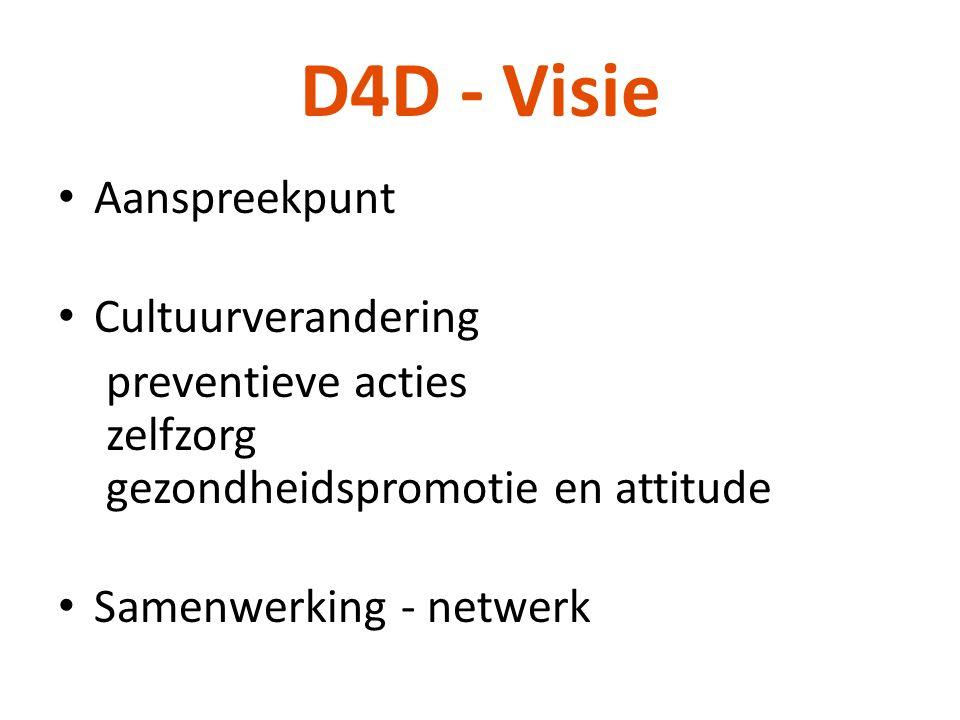D4D - Visie Aanspreekpunt Cultuurverandering
