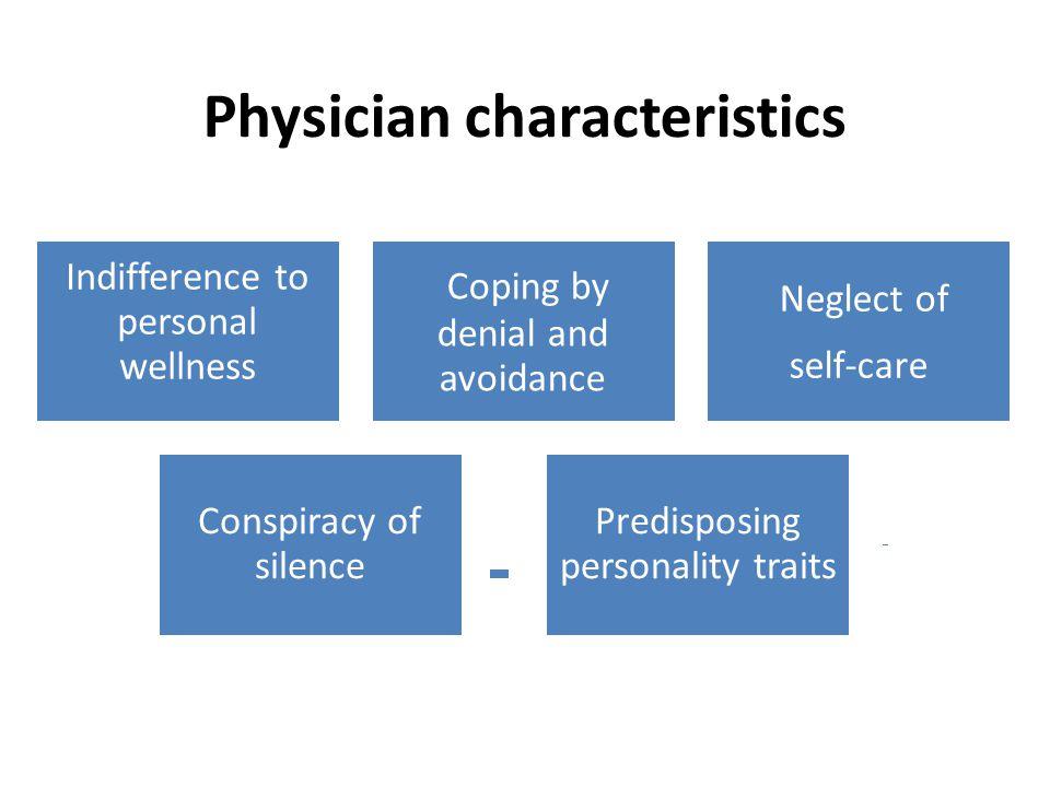 Physician characteristics