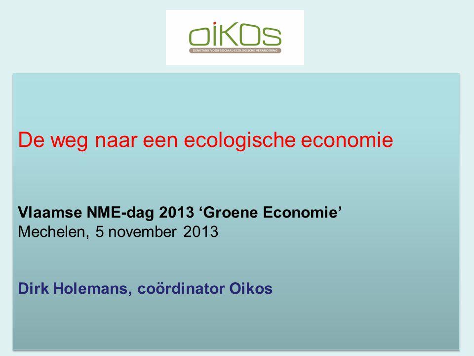 De weg naar een ecologische economie