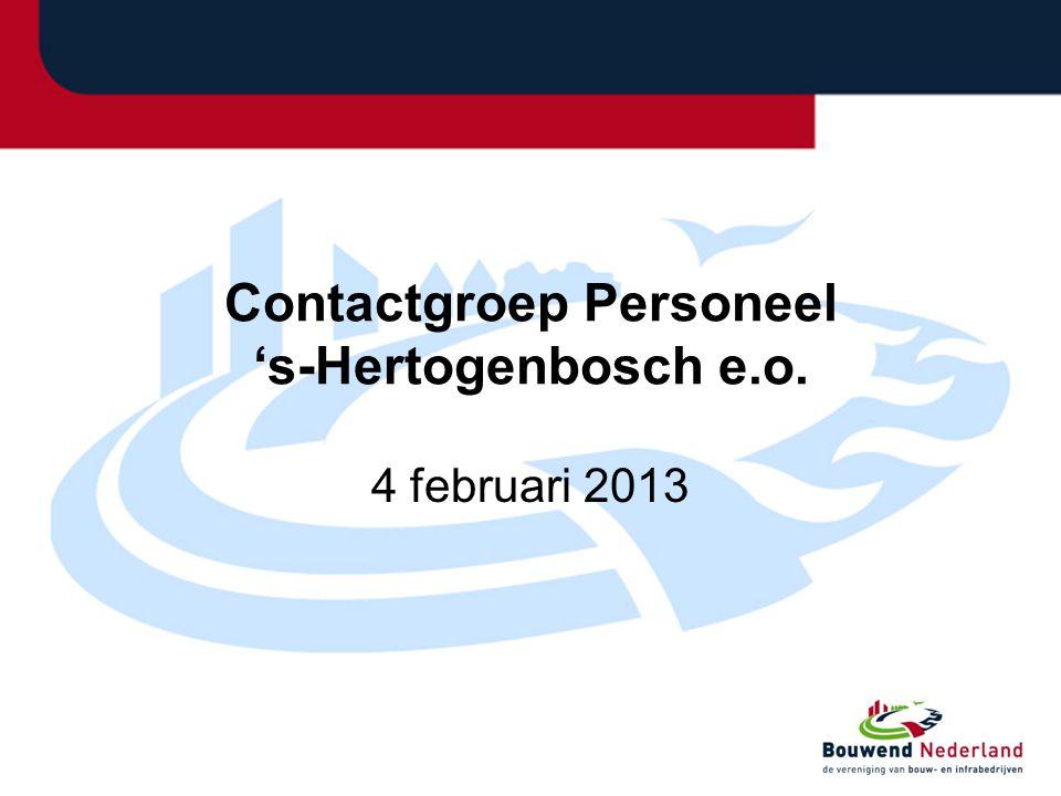 Contactgroep Personeel 's-Hertogenbosch e.o.